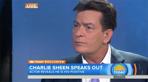 charlie sheen hiv positive