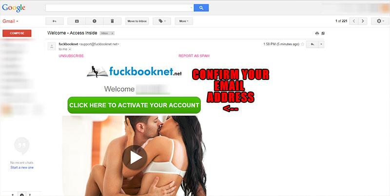 fuckbook signup step 3